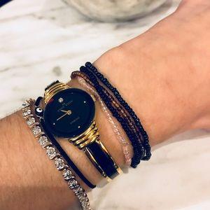 4 Delicate Beaded Bracelets
